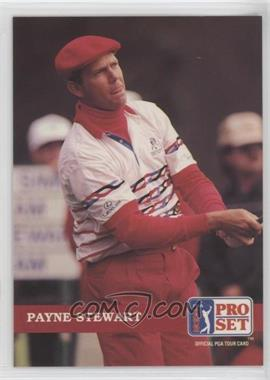 1992 Pro Set Golf - [Base] #46 - Payne Stewart