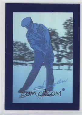 1992 Pro Set Golf - Ben Hogan Commemorative Collectible #N/A - Ben Hogan /5000