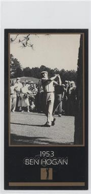 1993-98 Grand Slam Ventures Champions of Golf: The Masters Collection - [Base] #1953 - Ben Hogan