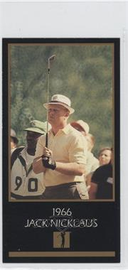 1993-98 Grand Slam Ventures Champions of Golf: The Masters Collection - [Base] #1966 - Jack Nicklaus