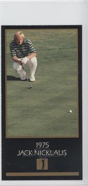 1993-98 Grand Slam Ventures Champions of Golf: The Masters Collection - [Base] #1975 - Jack Nicklaus