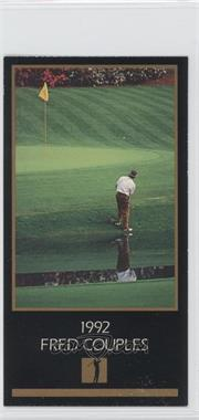 1993-98 Grand Slam Ventures Champions of Golf: The Masters Collection - [Base] #1992 - Fred Couples