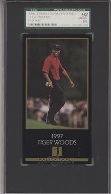 1993-98 Grand Slam Ventures Champions of Golf: The Masters Collection - [Base] #1997 - Tiger Woods [SGC92NM/MT+8.5]