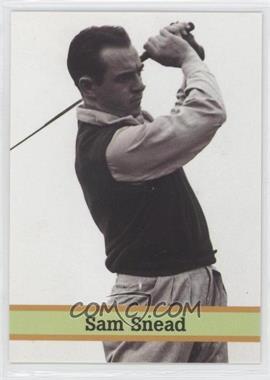 1993 Fax Pax Famous Golfers - [Base] #29 - Sam Snead