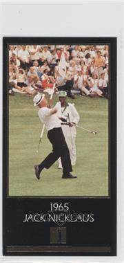 1993 Grand Slam Ventures Champions of Golf: The Masters Collection - Jack Nicklaus Gold #1965 - Jack Nicklaus