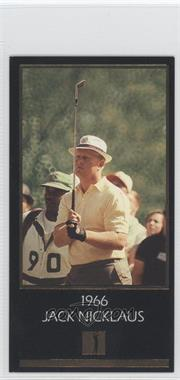 1993 Grand Slam Ventures Champions of Golf: The Masters Collection - Jack Nicklaus Gold #1966 - Jack Nicklaus