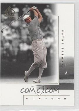 2001 SP Authentic - [Base] #123 - Payne Stewart
