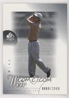 Authentic Stars - Mike Weir #/2,999