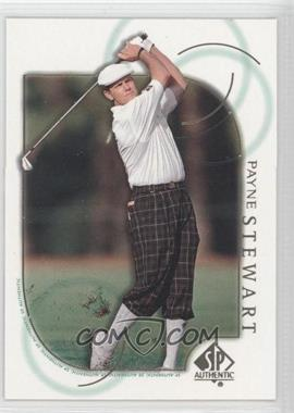 2001 SP Authentic - [Base] #6 - Payne Stewart