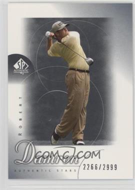 2001 SP Authentic - [Base] #70 - Robert Damron /2999