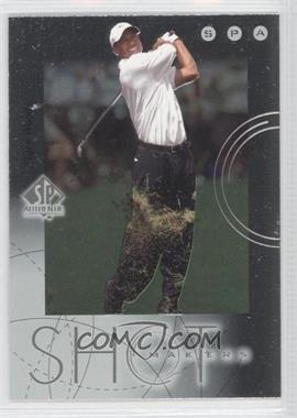 2001 SP Authentic - Shot Makers #S1 - Tiger Woods