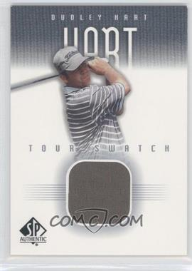 2001 SP Authentic - Tour Swatch #DH-TS - Dudley Hart