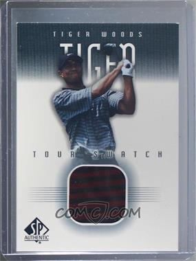 2001 SP Authentic - Tour Swatch #TW-TS - Tiger Woods [Near Mint‑Mint]
