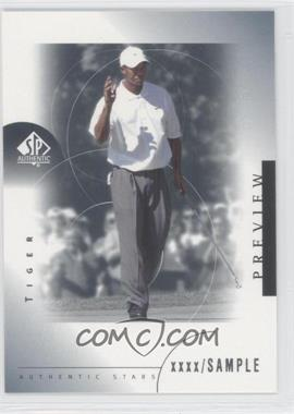 2001 SP Authentic Preview - [Base] #21 - Tiger Woods