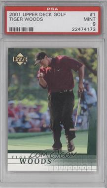 2001 Upper Deck - [Base] #1 - Tiger Woods [PSA9MINT]