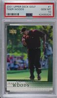 Tiger Woods [PSA 10 GEM MT]