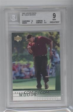 2001 Upper Deck - [Base] #1 - Tiger Woods [BGS9]