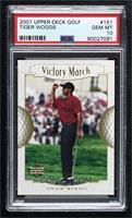 Victory March - Tiger Woods [PSA10GEMMT]