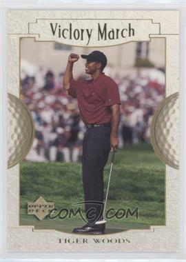 2001 Upper Deck - [Base] #151 - Victory March - Tiger Woods