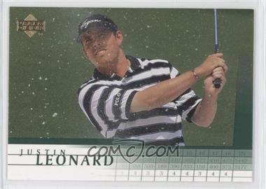 2001 Upper Deck - [Base] #16 - Justin Leonard