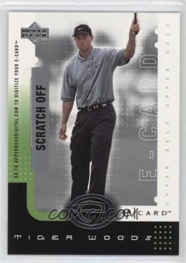 2001 Upper Deck - E-card #E-TW - Tiger Woods