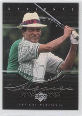 2001 Upper Deck - National Heroes #NH14 - Chi Chi Rodriguez