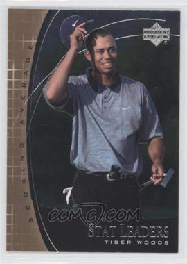 2001 Upper Deck - Stat Leaders #SL11 - Tiger Woods