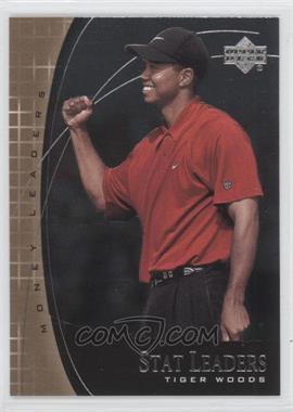 2001 Upper Deck - Stat Leaders #SL17 - Tiger Woods
