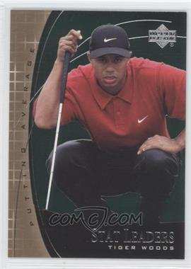 2001 Upper Deck - Stat Leaders #SL7 - Tiger Woods