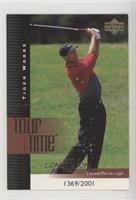 Tiger Woods #/2,001