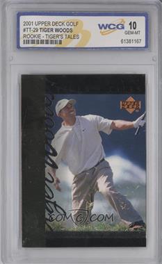 2001 Upper Deck - Tiger's Tales #TT29 - Tiger Woods [ENCASED]
