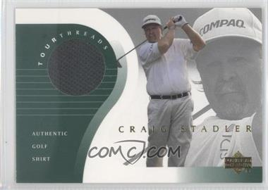 2001 Upper Deck - Tour Threads #TT-ST - Craig Stadler
