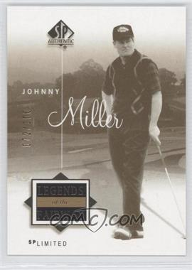 2002 SP Authentic - [Base] - Limited #52SPA - Johnny Miller /100