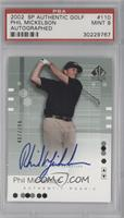 Phil Mickelson [PSA 9 MINT] #/799