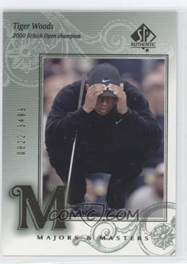 2002 SP Authentic - [Base] #139 - Tiger Woods /3499