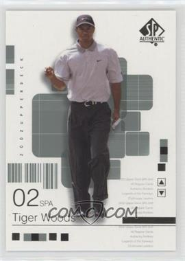 2002 SP Authentic - [Base] #1SPA - Tiger Woods