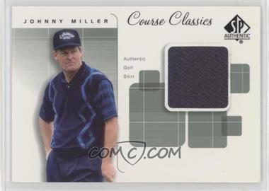 2002 SP Authentic - Course Classics Golf Shirts #CC-JMI - Johnny Miller