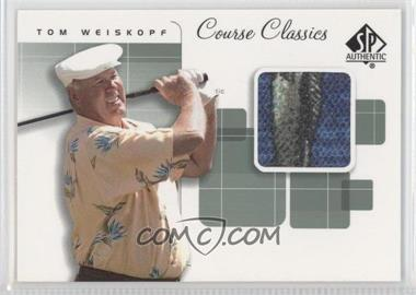 2002 SP Authentic - Course Classics Golf Shirts #CC-WE - Tom Weiskopf