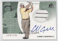 Chad Campbell #/1,750