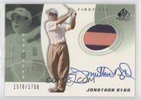 Jonathan Byrd #/1,750