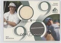 Sergio Garcia, Phil Mickelson #/200