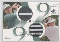 Fred Couples, Lee Janzen #/200