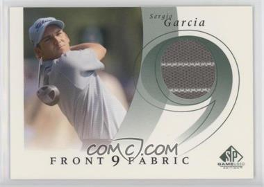 2002 SP Game Used Edition - Front 9 Fabric #F9S-SG - Sergio Garcia
