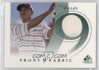 2002 SP Game Used Edition - Front 9 Fabric #F9S-TI - Tiger Woods