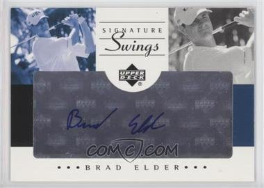 2002 SP Game Used Edition - Signature Swings #SS-BE - Brad Elder