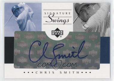 2002 SP Game Used Edition - Signature Swings #SS-CS - Chris Smith