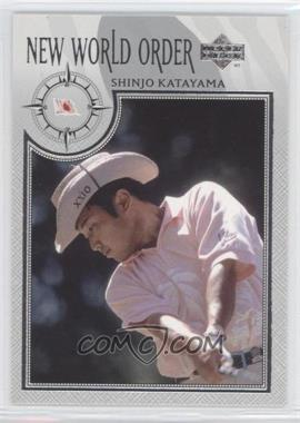 2002 Upper Deck - [Base] - Silver #75 - Shinjo Katayama