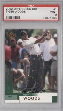 2002 Upper Deck - [Base] #1 - Tiger Woods [PSA9MINT]