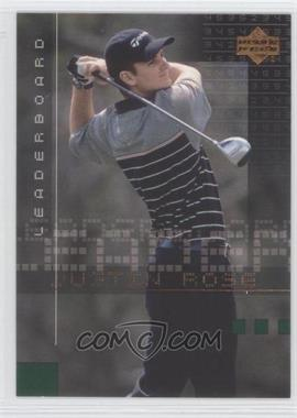 2002 Upper Deck - [Base] #117 - Justin Rose