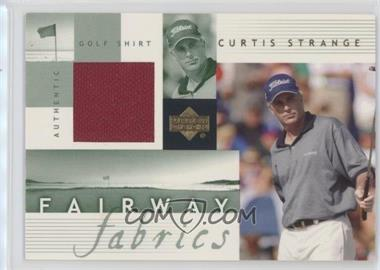 2002 Upper Deck - Fairway Fabrics #CS-FF - Curtis Strange